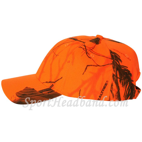 Realtree AP Structured Camo Cap side view