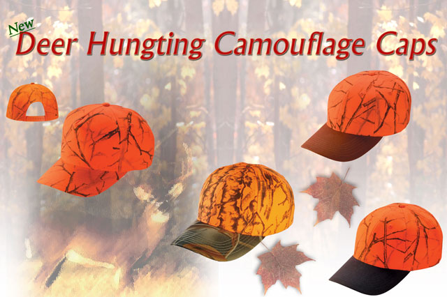 New Deer Hunting Camouflage Caps