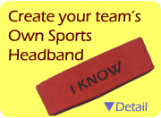 custom headband sweatband