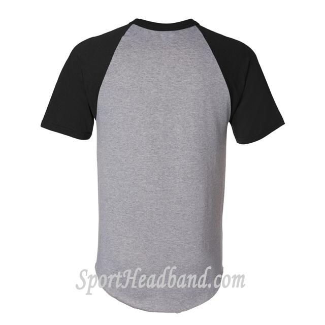 Augusta Sportswear Short-Sleeve Raglan T-Shirt 423 back view